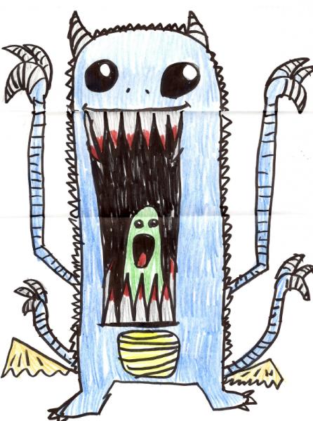 george-monster